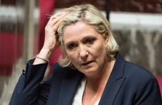 Marine Le Pen has been charged with misuse of European funds