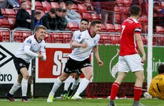 Late Cunningham equaliser keeps honours even in Inchicore
