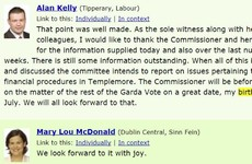 Alan Kelly can't stop bringing up his birthday in the Dáil and it's weirdly endearing