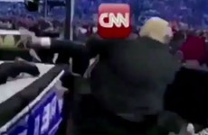 Donald Trump posts doctored video of himself 'beating up CNN'