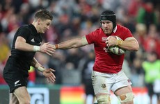Sean O'Brien cleared to play in third Lions Test as citing is dismissed