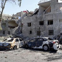 Suicide bomber kills 18 after car chase in Damascus