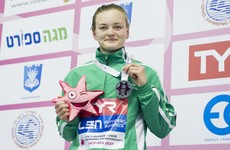 Exciting Irish prospect wins another gold medal at the European Junior Swimming championships