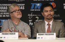 Game Over, Pac Man? I'll urge Pacquiao to quit, says trainer Roach