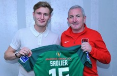 Cork City's new addition confident of working towards senior Ireland call-up