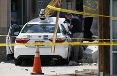 Boston taxi driver injures 10 after stepping on accelerator rather than brake by mistake