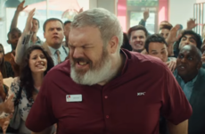 KFC's newest ad features a Game of Thrones character reliving his death in a branch of the fast food chain