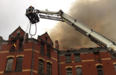 Firefighters bring massive fire at derelict Cork city building under control