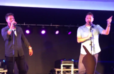 Brian McFadden has hit back at claims that he was drunk during a Boyzlife gig