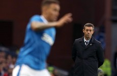 Rangers manager assumes 'all responsibility' for loss to team that finished 21 points off the top in Luxembourg