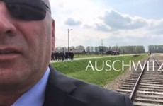 US congressman under fire for filming video message inside Auschwitz Memorial