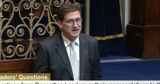 'Dignity in the House': TD presents a bag of his plastic household waste in the Dáil
