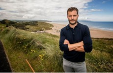 Jamie Dornan was playing golf up North with a ball in his pocket... and everyone made the same joke