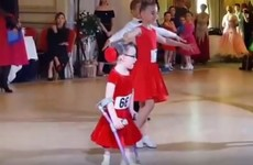 'We were told she wouldn't walk': Young girl beats odds and competes in dance competition