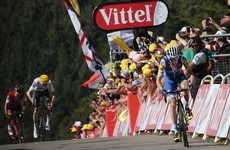 Dan Martin claims second-place finish after superb day in the mountains