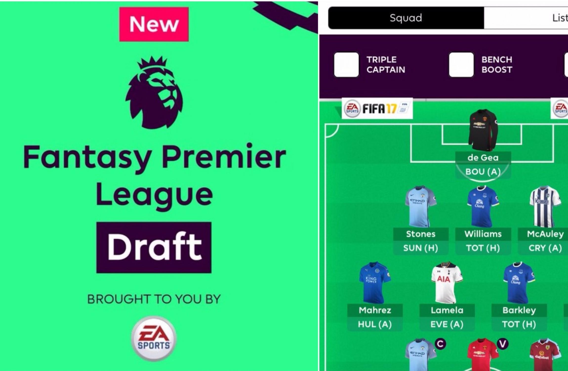 Fantasy Premier League confirms long-awaited 'draft ...