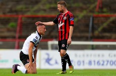 Late Kilduff winner extends Dundalk's winning streak to five
