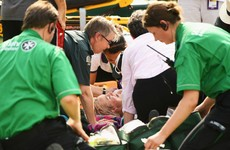 Mattek-Sands suffers 'acute knee injury' in horrific Wimbledon fall