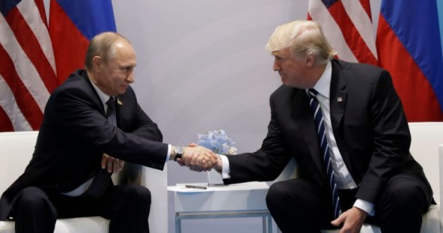 Trump 'raised concerns of American people' with Putin at start of G20 talks today