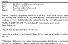 Emails between Google and Uber show how the tech giants became enemies