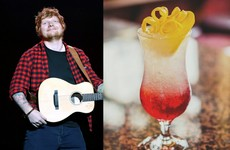 The Front Door pub in Galway has created a special 'Ed Sheeran cocktail' for the weekend that's in it