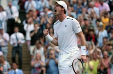 Andy Murray survives at Wimbledon but it was pretty nervy for a while in four-set thriller
