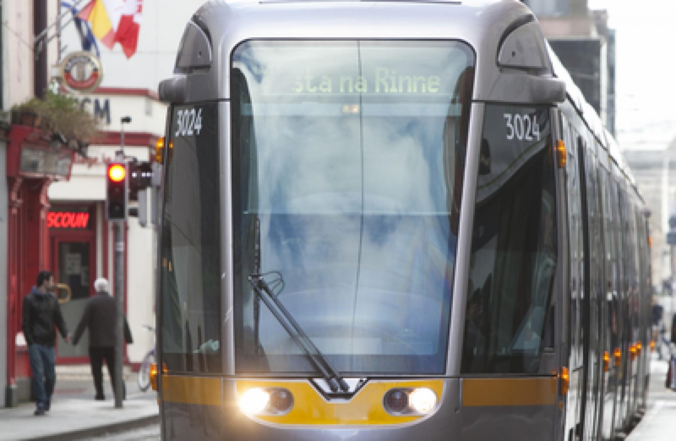 Woman dies after being hit by Luas tram in Rialto