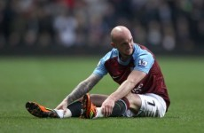 Stephen Ireland's fiancée wants him to play at Euro 2012