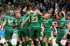 Watch: Jonny Hayes on target as Celtic put 9 past Shamrock Rovers
