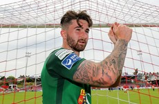 Tunnel bust-up but Sean Maguire ensures Cork's unbeaten run extends to 25