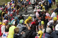 Uran wins Tour de France stage as Dan Martin suffers crash
