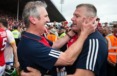 'We're all Cork men. Munster medal on the field or off the field, it's the same thing.'
