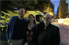 Leo Varadkar was at the Pixies gig last night and posed for a photo with the lead singer