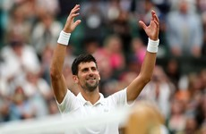 Djokovic survives injury scare to reach Wimbledon quarters