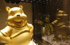 Want to see what a solid gold Winnie the Pooh looks like?