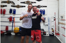 'He kicks like a donkey': When John Kavanagh met Chris Martin
