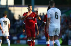 Watch: Marko Grujic scores stunner as Liverpool rout Tranmere