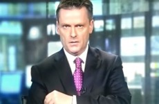 eBay has used *that* Aengus Mac Grianna moment from RTÉ news in their latest US TV ad