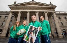 One for the collection! Ireland captain Briggs immortalised with Rugby World Cup stamp