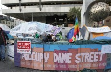 Central Bank has 'no inclination' to force Occupy Dame Street out, says governor