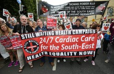 Harris vows to 'expedite review' of cardiac services following protests