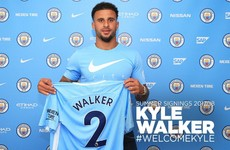 Walker becomes most expensive full-back of all-time after sealing Man City move