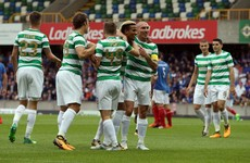 Linfield no match for Celtic in heated Champions League tie at Windsor Park