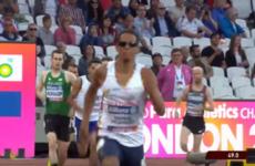 Michael McKillop wins 800m heat at World Para Athletics Championships in bizarre circumstances