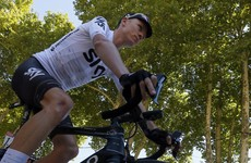 Chris Froome reclaims yellow jersey as Martin earns top-10 finish