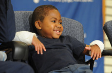 Double hand transplant success: 'The boy wanted to climb monkey bars and grip a baseball bat'