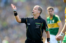 'A long bath and going through the game in my mind' - How Eddie Kinsella prepared to referee an All-Ireland football final