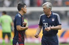 'We did not sign James Rodriguez to replace Thomas Muller' - Ancelotti