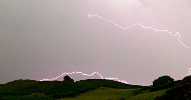 Power outages in Cork after thunder and lightning last night