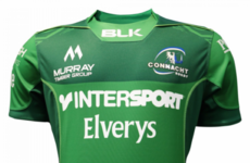 Connacht unveil new all-green kit for Kieran Keane's first season in charge